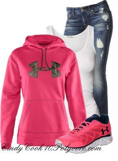 Under Armour Womens Tackle Twill Hoodie : Cabelas nike-shose. Nike Outfits, Casual Outfits, Fashion Outfits, Womens Fashion, Fashion News, Fall Winter Outfits, Autumn Winter Fashion, Design Nike, Nike Free Run