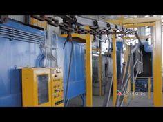 Aplicación de pintura electrostática en polvo - powder coating in Mexico | RETEMSA Monclova - YouTube