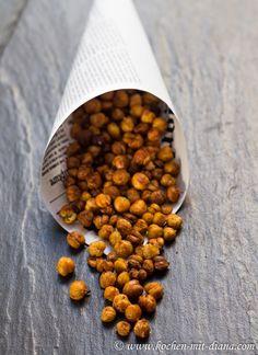 LowCarb || Gesunde Snacks: Geröstete Kichererbsen