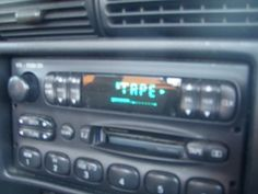 tape deck...remember when =)