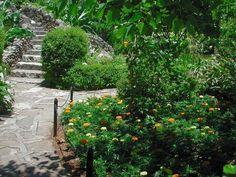 Sunken Gardens in San Antonio, Texas