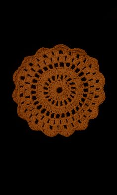 Rosy Coaster or Doily pattern