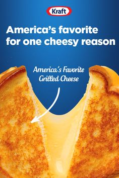America's Favorite Grilled Cheese has a fail-proof, delicious, and irresistibly cheesy recipe. Your go-to quick and easy lunch that will please the whole family. Grill Cheese Sandwich Recipes, Grilled Cheese Recipes, Cheesy Recipes, Beef Recipes, Copycat Recipes Kfc, Califlower Mac And Cheese, Easy Christmas Dinner, Perfect Grilled Cheese