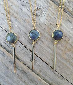 Labradorite Necklaces www.LunaSavita.com #Labradorite #stone #stonejewelry #necklace #etsy #etsyseller #etsyshop #etsyfinds #ootd #jewelry #picoftheday #photooftheday #pickoftheday #style #shopsmall #shophandmade #handmade #giftsforher #sparkle #laboraditejewelry