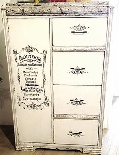 I have an antique gentleman's chest. Thinking..... Painted French Armoire - Reader Featured Project
