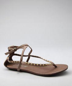 Brown Pow Wow Sandal