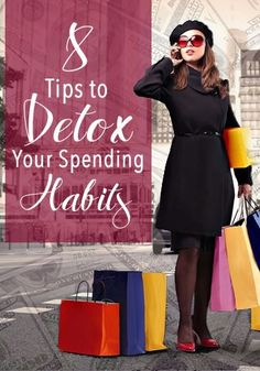 8 TIps to Detox Your Spending Habits | www.TheHeavyPurse.com personal finance resources, personal finance tips #PF