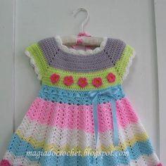 TRICO y CROCHET-madona-mía: Modelos en crochet para bebes, para expertas sin patrón