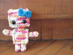 This little rainbow robot is easy and fast to make and it is just really cute!