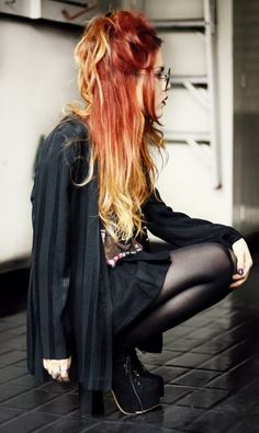 I wamt this dye job but instead of the red I want a light strawberry brown.