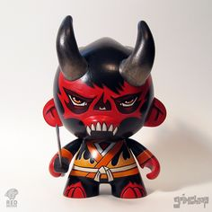 Fire Oni by grimsheep, via Flickr