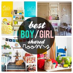 Pepper and Buttons: best boy + girl shared room ideas - voguehome.org