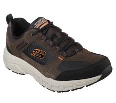 Mens Skechers Oak Canyon Outdoor Oxford Chocolate Memory Foam, Mens Walking Shoes, Skechers Relaxed Fit, Mens Training Shoes, Mens Skechers, Shoe Wardrobe, Comfortable Sneakers, Suede Leather, Zapatos