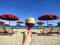 Caffè Shakerato in Elba Island, Tuscany - dream getaway