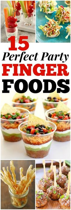 Looking for good hosting recipes? These easy party finger food recipes include e… Looking for good hosting recipes? These easy party finger food recipes include entrees, appetizers, sides and desserts to impress your friends and family! Finger Food Appetizers, Appetizers For Party, Easy Finger Food, Finger Food Recipes, Summer Finger Foods, Finger Foods For Parties, Easy Party Recipes, Christmas Party Finger Foods, Wedding Finger Foods