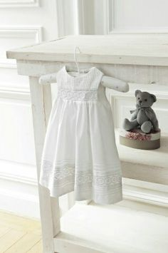 Ideas For Baby Dress Baptism Shabby Chic Fashion Kids, Baby Girl Fashion, Little Dresses, Little Girl Dresses, Dresses For Babies, Easter Dresses For Toddlers, Vintage Baby Dresses, Christening Gowns, My Baby Girl