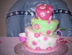 Topsy Turvy Cake tutorial - Im Topsy Turvy