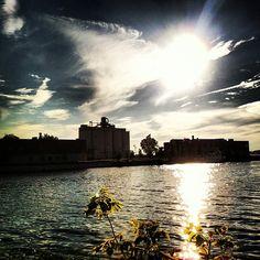 Sunny Day -- Muskegon, Michigan.