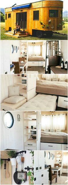 The Caravan by Austrian Company Wohnwagon Brings a New Look to Tiny Living - Sometimes when it comes to tiny houses, they can all start looking the same. That's definitely not the case with the Caravan by Wohnwagon builders out of Austria! This home has curves in all the right places and is made to be totally self-sufficient!