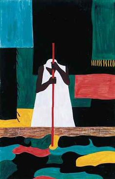 Jacob Lawrence from the Migration Series http://www.questgarden.com/53/94/3/070727091139/process.htm