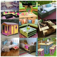Repurposed pallet ideas are one of my favorite DIY projects. Wood pallets are commonly use as a mechanism for shipping and storing larger items. But recently, they have become so popular as a useful resource in making impressive furniture and decors… Pallet Crates, Wooden Pallet Furniture, Wooden Pallets, Wooden Diy, Pallet Dresser, Diy Wood, Diy Pallet Projects, Furniture Projects, Diy Furniture