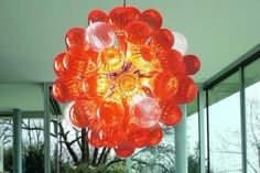 100% Mouth Blown Ce Ul Borosilicate Murano Glass Dale Chihuly Art Ball Chandelier Round Glass Lamp Hanging Lighting Fixtures Multi Light Pendants From Asiagrandart, $351.76| Dhgate.Com