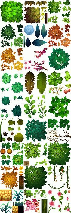 ❤ ❤ leaf leaf collection to the scene reference