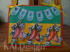Day #12 #30DoC Fiesta Card
