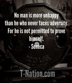 Wise words. T-Nation.com #motivation
