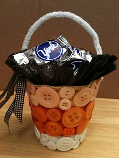 Halloween goodie pot - plastic cup