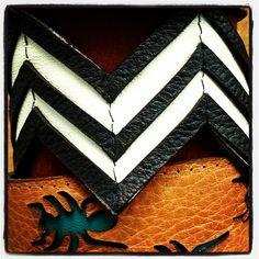 Skinny Chevron Cuff. #melvin #blackandwhite #chevron #leathercuffs #madeinusa #fashion #trendy #accessories #jewelry #black #white #Fal #cuffsl - @melvinjewelry- #webstagram