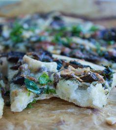 Kale Mushroom Brie P