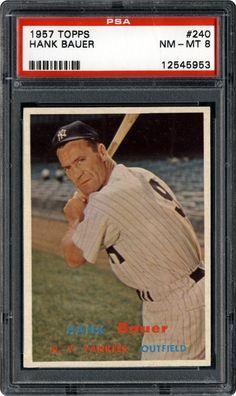 1957 Topps 240 Hank Bauer