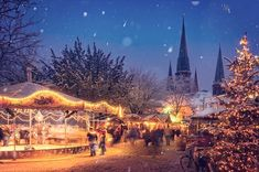 Best Christmas Markets in Europe & Tips to Attend Best European Christmas Markets, Christmas Markets Europe, Christmas Town, Magical Christmas, Christmas Travel, Christmas Holidays, Christmas Specials, French Christmas, Christmas Feeling