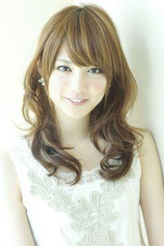 モテ系愛されセミディ|AFLOAT JAPANのヘアスタイル