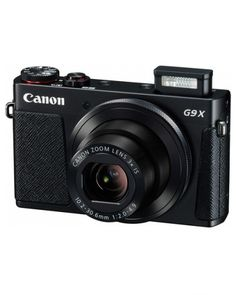 """SHOP Canon PowerShot G9 X Black Digital Compact Camera for £299.99 at techinthebasket.com  Features: 20.2MP 1"""" High-Sensitivity CMOS Sensor  DIGIC 6 Image Processor  3x Optical Zoom f/2.0-4.9 Lens  28-80mm (35mm Equivalent)  3.0"""" 1.04m-Dot Touchscreen LCD Monitor  Full HD 1080p Video Recording at 60 fps  Built-In Wi-Fi with NFC"""
