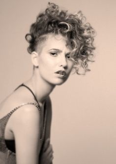Gorgeous Curly Undercuts!