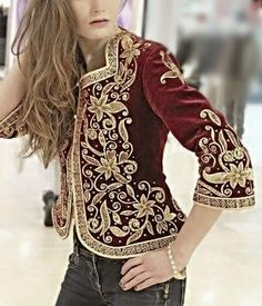 35 Ideas braids boho hats for 2019 Boho Hat, Embroidered Jacket, Military Fashion, Jacket Style, Ideias Fashion, Cool Outfits, Fashion Tips, Fashion Design, Fashion Ideas