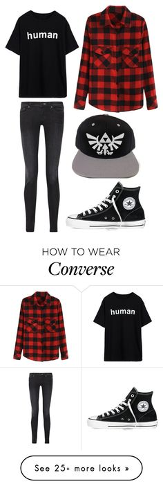 """Untitled #636"" by sarahlavelle8 on Polyvore featuring Acne Studios and Converse"