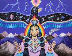 Animal Medicine, Power Animal, Animal Totems, Moon Child, Deities, Spirit Animal, Wiccan, Trippy, Illustrators