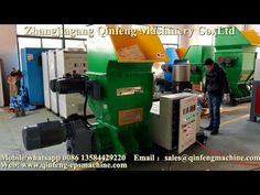 Polystyrene hot melting compactor from Qinfeng for South Africa.