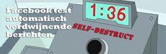 'Van Facebook is bekend dat 's werelds grootste social media netwerk er alles aan doet om haar systeem continue uit te breiden en te verbeteren met nieuwe of verbeterde mogelijkheden. Een nieuwe mogelijkheid die waarschijnlijk wereldwijd aan het netwerk zal worden toegevoegd is het automatisch verdwijnen van geplaatste berichten. '  Lees er alles over in ons laatste blogartikel:  http://conversiemarketeers.nl/nl/blog/social-media/facebook-test-automatisch-verdwijnende-berichten/