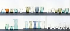 Gorgeous Ittala pitchers and drinking glasses Space Saving, Tablescapes, Floating Shelves, Dinnerware, Drinking, Colour, Crystals, Glasses, Cool Stuff