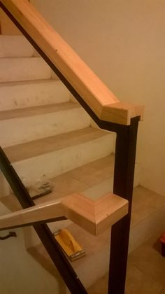 baranda para escalera