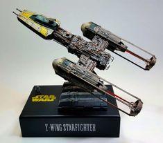 Y-Wing Starfighter by Josu Araiztegi (Noblez) · Putty&Paint