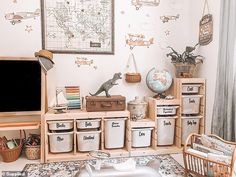 Australia's 'organisational queen' reveals foolproof way to tidy up kitchen sink and bathroom vanity Ikea Kids Playroom, Toddler Playroom, Playroom Storage, Playroom Design, Kids Room Design, Playroom Decor, Baby Room Decor, Ikea Kids Storage, Montessori Toddler Rooms