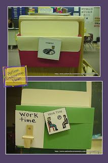 Autism Classroom News: Visual Schedule Series: The Importance of Check-In Stations