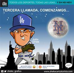 "#ElCartonDelDia para @PurakuraWeb ""TERCERA LLAMADA""@LosDodgers @theteenager7 @Dodgers #JulioUrias @DodgersNation"