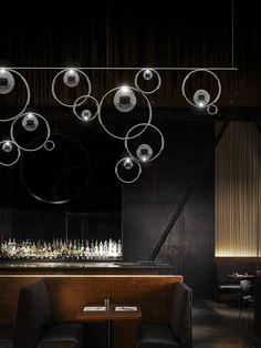 Light installations from the design studio Heathfield & Co Showmanship
