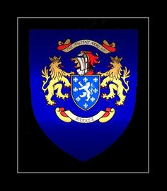 Barker Coat of Arms (New)